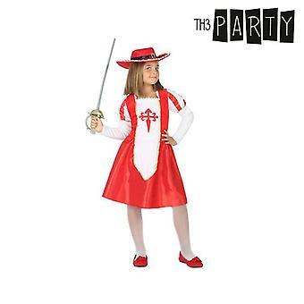 Costume per bambini Moschettiere femminile