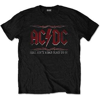 AC/DC - Hell Ain't A Bad Place Miesten XX-Large T-paita - Musta