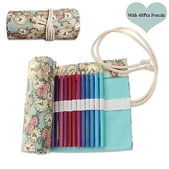 أقلام الرصاص الملونة تعيين الفن لون أقلام الرسم عدة