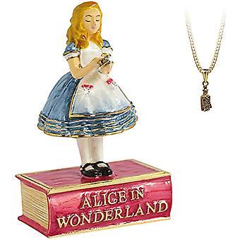 Arora Geheimen van Verborgen Schatten Alice in Wonderland Trinket Box, Veelkleurig, One Size