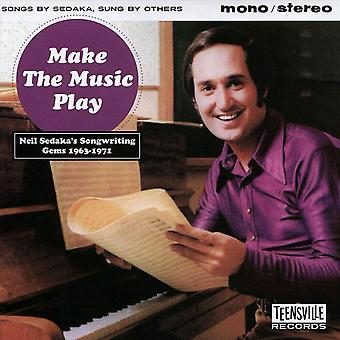 Diverse - Make The Music Play (Neil Sedaka's Songwriting Gems 1963-1971) CD