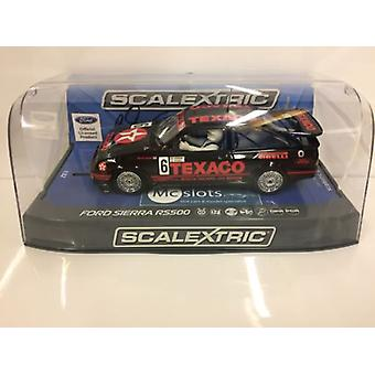 Scalextric C3738AE Autograf serii Ford Sierra RS500 Steve Soper Nr 6