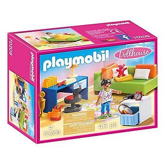 Playset Dollhouse Teenager's Room Playmobil 70209 (43 pcs)