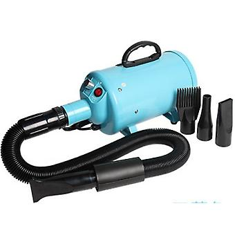 Hair Dryer For Dogs Pet Dog Cat Grooming Blower Warm Wind Fast Blow Dryer(Blue)