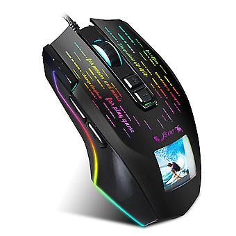 Game Mouse With Display Screen