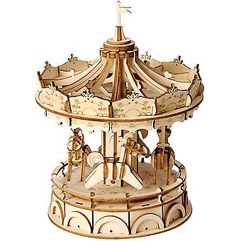 Wooden Puzzle Toy 3d Wooden Model Kits Architecture Kits Great Gifts