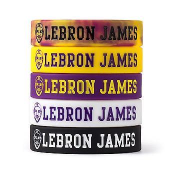 James 6 Inspirational Avatar Bracelet Basketball Sports Wristband Lakers Zhan Huang Luminous