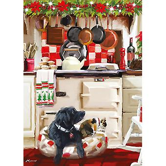 Otter House Christmas Kitchen Jigsaw Puzzle (1000 Pieces)