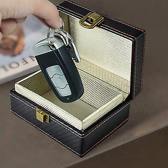 Varkaudenesto Faraday Box RFID Faraday Key Fob Protector Radiation-proof Matkapuhelin Laatikko Auto Avaimeton Signaalin esto Turvallisuus Uusi