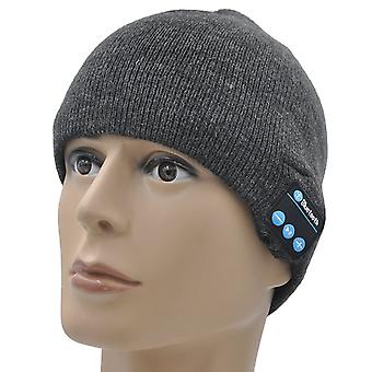 Nokia 8 (Dark Grey) Unisex One Size Winter Bluetooth Beanie Hat with Built-in Wireless Stereo Speaker Headphone