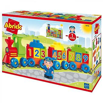 Ecoiffier - 3349 - Loco Of Numbers And Letters - Abrick
