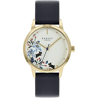 Radley Mto - Ss21 Promo Ry21222a Ivory Dial Leather Strap Ladies Watch