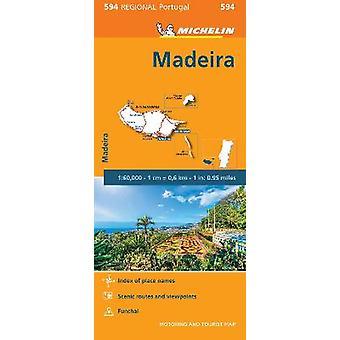 Madeira Michelin Mapa Regional 594 Mapa Michelin Mapas Regionales