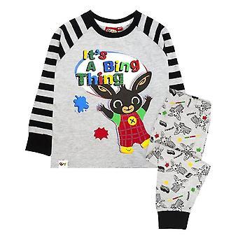 Bing Bunny Boys Its A Bing Thing Long-Sleeved Pyjama Set