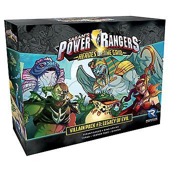 Power Rangers: Heroes of the Grid: Villian Pack #3: Legacy of Evil