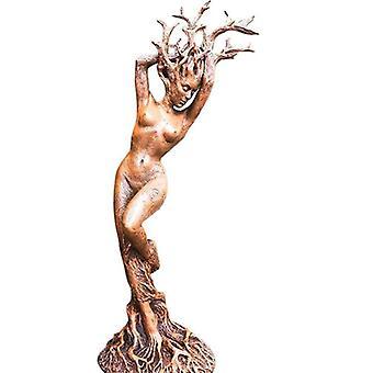 אלת היער זוג פסל שרף הבית אקווריומים קישוטים קישוט גינה קישוטים מלאכת יד קישוטים