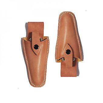 Leather Sheathed Tools, Suitable For Use In Clamps, Scissors, Scissors, Knives Or Gardens (pack Of 2)