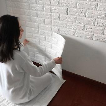 3d Brick Pattern Wallpaper Bedroom Living Room Modern Wall Background Decor