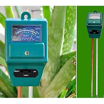 3 i 1 ph tester, jordfuktighet og lystester, egnet for hageplanter og blomster Y1