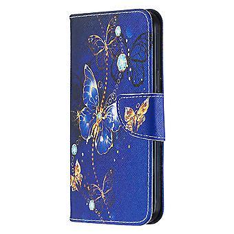 Magnetische Abdeckung für Iphone 12 Pro Max Muster Schmetterling