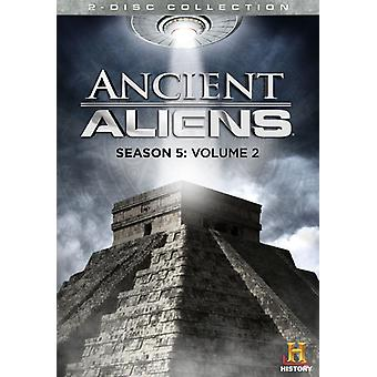Ancient Aliens: sesong 5 Vol. 2 [DVD] USA import