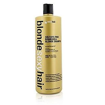 Sexy Hair Concepts Blonde Sexy Hair Sulfate-free Bombshell Blonde Shampoo (daily Color Preserving) - 1000ml/33.8oz