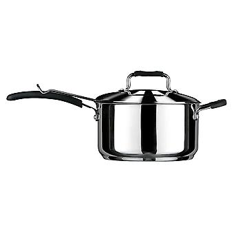 Tenzo Chip Pan, Stainless Steel/Soft Grip Handles/Basket, Stainless Steel Lid