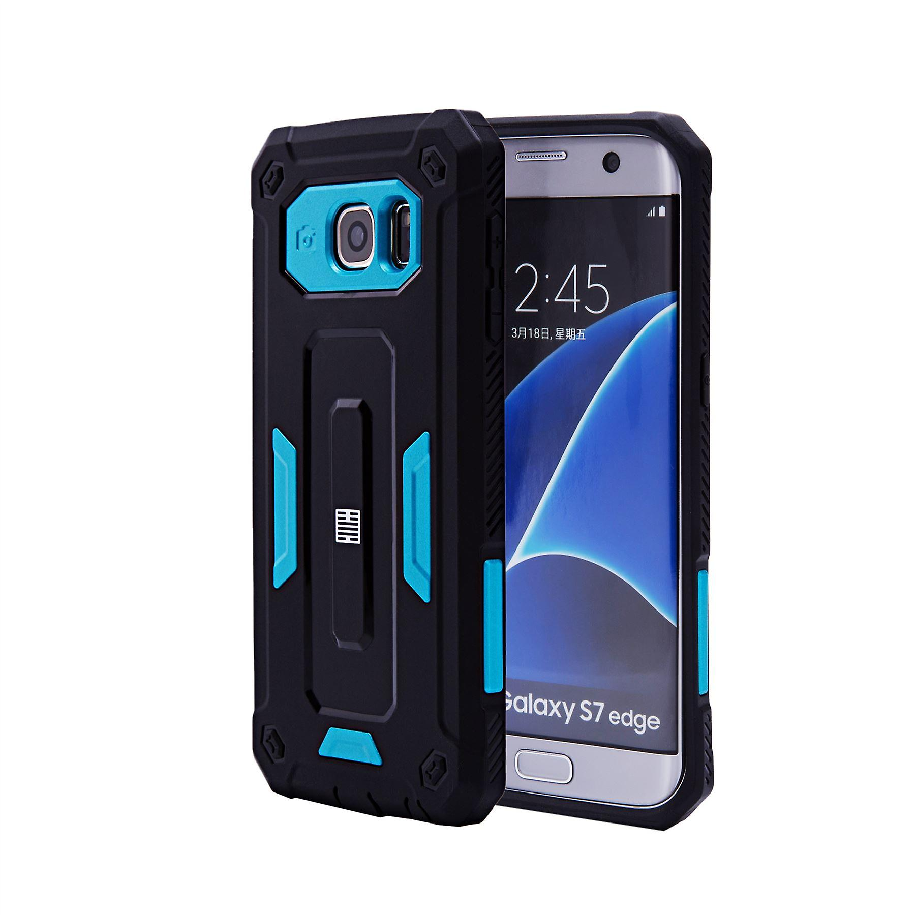 32nd Hard Defender case for Samsung Galaxy S7 Edge (SM-G935) - Deep Blue