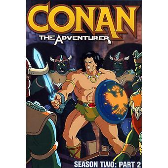 Conan eventyreren: sæson 2 Pt. 2 [DVD] USA import