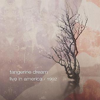 Tangerine Dream - en vivo en la importación de Estados Unidos de América 1992 [CD]