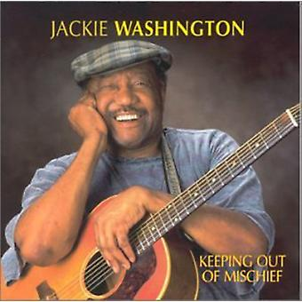Jackie Washington - importation USA gardant de méfait [CD]