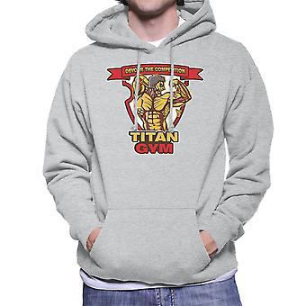Titan Gym Attack On Titan Men's Hooded Sweatshirt