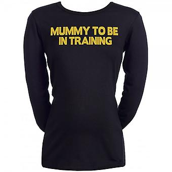 Spoilt Rotten Mummy To Be In Training Maternity T-Shirt