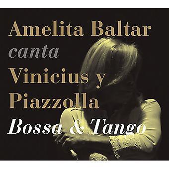 De Moraes, Winicjusz / Baltar, Amelita / Creuza, Maria - Amelita Baltar śpiewa Vinicius & Piazzolla - Bossa [CD] USA import
