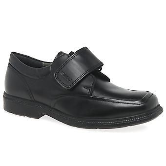 Geox Junior Federico Klettverschluss Boys School Schuhe