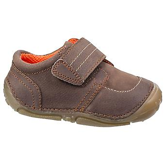 Hush Puppies Boys Leo Pre-walkers Brown F Fitting