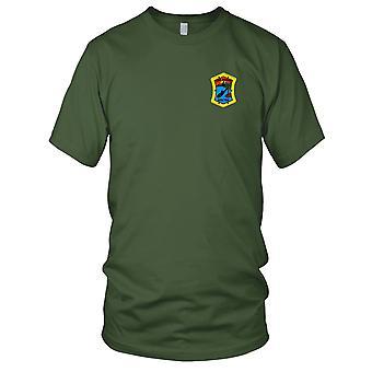 US Marine USS SSN-755 Miami gestickt Patch - Herren-T-Shirt