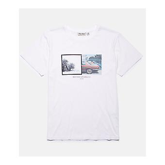 Rhythm Contax Short Sleeve T-Shirt in White