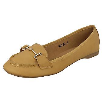 Ladies flekk på flate sko F8720