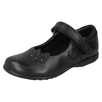 Girls Clarks School Shoes with Lights Trixi Run