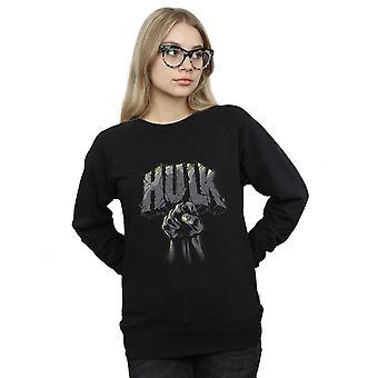 驚異女性のハルク パンチ ロゴ スウェット シャツ