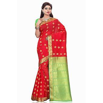 Helles røde kunst silke Sari Saree Bellydance Wrap
