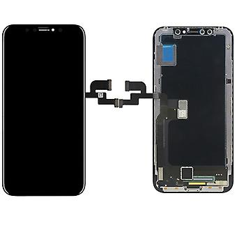 Display LCD complete unit touch panel for Apple iPhone X / 10 black