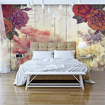 Wallpaper - Vintage Flowers