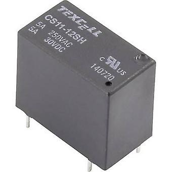 Texcell CS11-12SH PCB relay 12 V DC 5 A 1 maker 1 pc(s)