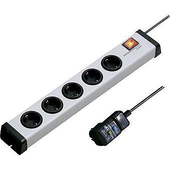 Ehmann 0221x00052309 Safety socket strip 5x Grey PG connector 1 pc(s)