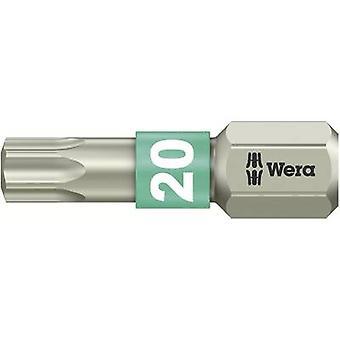 Wera 3867/1 TS TX 20 X 25 MM Torx Bit T 20 Edelstahl D 6.3 1 st.B.