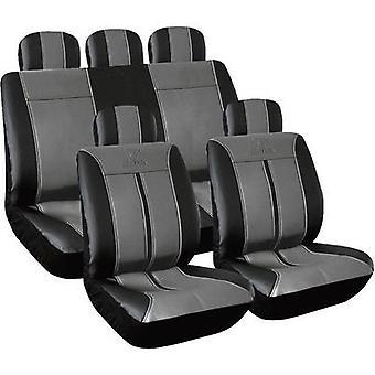 Eufab 28288 Buffalo Car Seat Cover Set Black, Grey