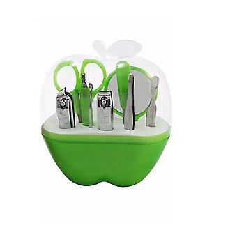 Groene appel Nail Care Cutter Cuticle Clippers Pedicure Manicure Set UK verzorgen