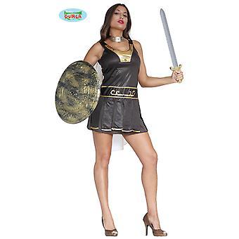 Sexig Gladiator karneval part kostym för damer antika fighter soldat